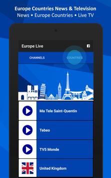 Europe Live TV screenshot 3