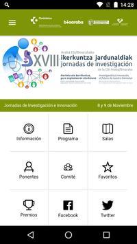 Jornadas de Investigación screenshot 1
