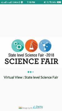 Virtual Tour Science Fair (Public Application) poster