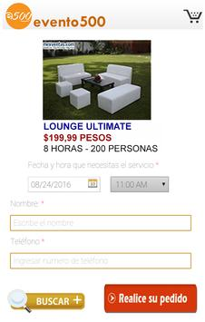 evento 500 apk screenshot