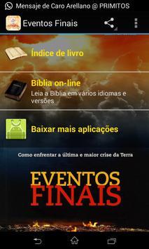 Eventos Finais - audiobook poster