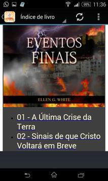 Eventos Finais - audiobook apk screenshot