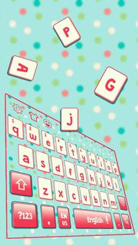 Everyday Dot Keyboard Theme apk screenshot
