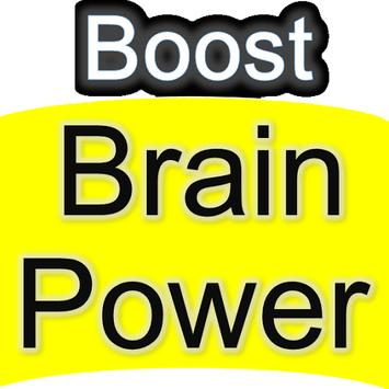 Boost your Brain Power, Boost Mind Exercise Course poster