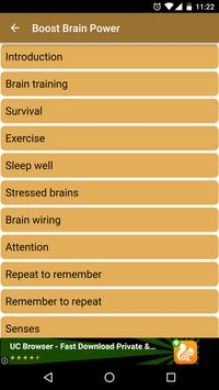 Boost your Brain Power, Boost Mind Exercise Course screenshot 2