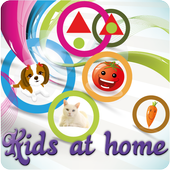 Kids at home icon