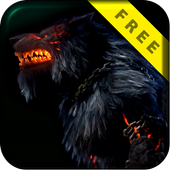 Evil Fire Wolf Live Wallpaper icon