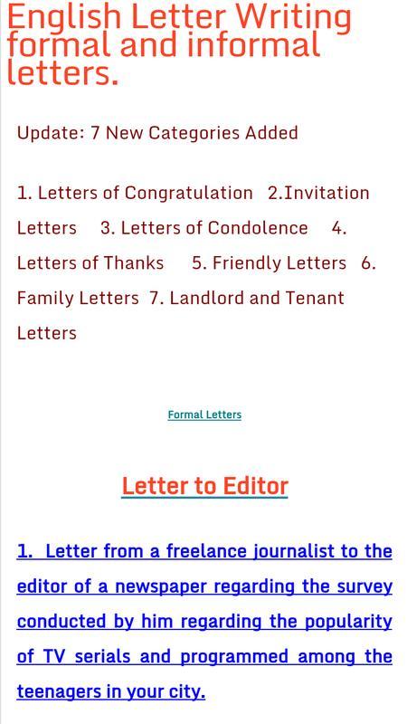English letter writing para android apk baixar english letter writing cartaz english letter writing imagem de tela 1 stopboris Gallery