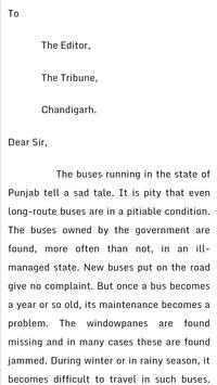english letter writing screenshot 2