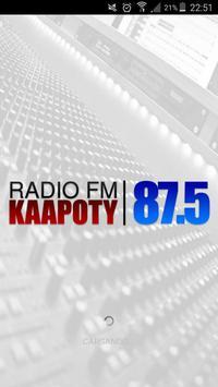 KAAPOTY FM 87.5 poster