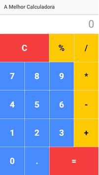 A Melhor Calculadora apk screenshot