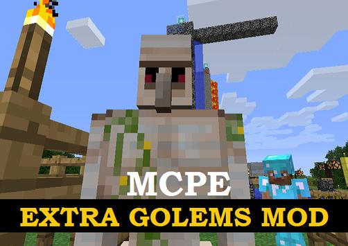 Extra Golems Mod for Minecraft screenshot 2