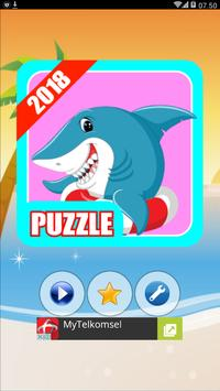 Puzzle Fish Shark poster