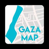 Gaza Maps Demo icon