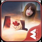 Canada Flag Day Photo Frames icon