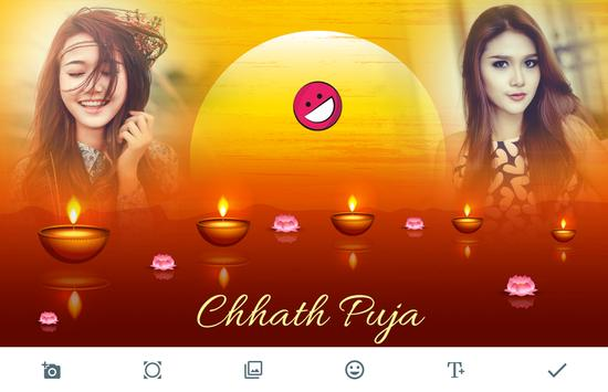 Chhath Puja Photo Frames poster