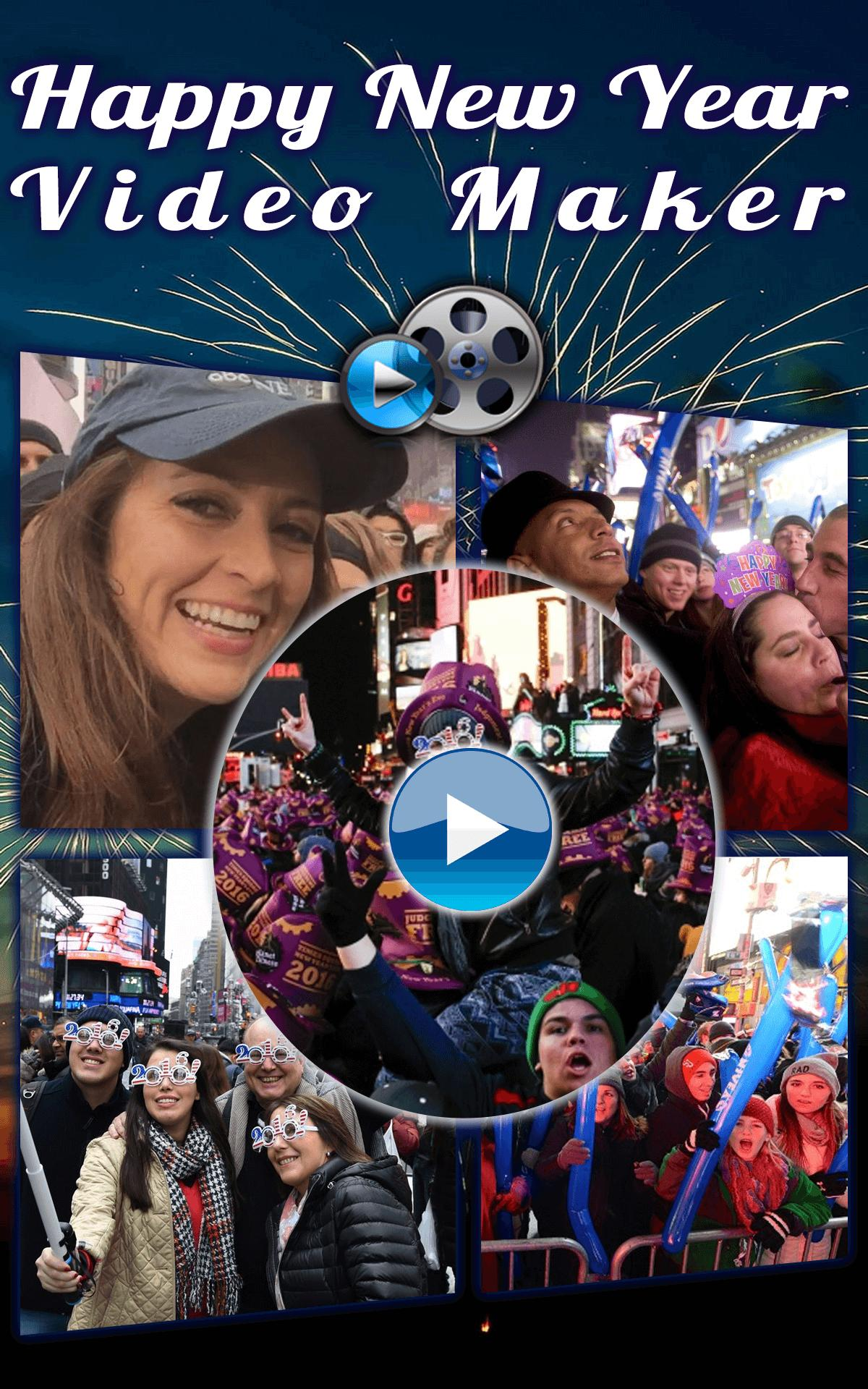 New Year Video Maker 2