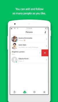 wOnline -Tracking for WhatsApp screenshot 1