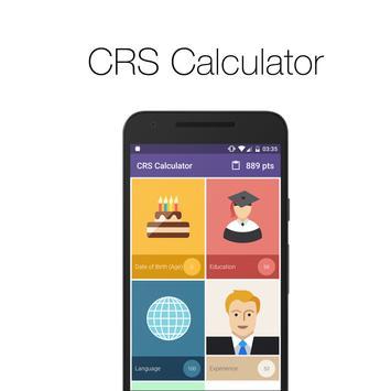 CRS Calculator poster