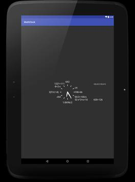 Math Clock apk screenshot