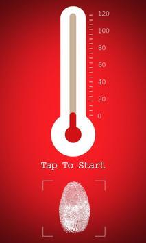 Fingerprint Thermometer Prank poster