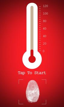 Fingerprint Thermometer Prank apk screenshot