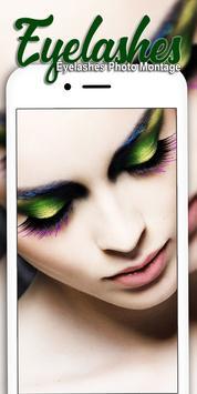 Eyelashes photo Editor poster