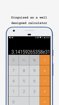 Calculator - Vault for photo (hidden your photos) poster