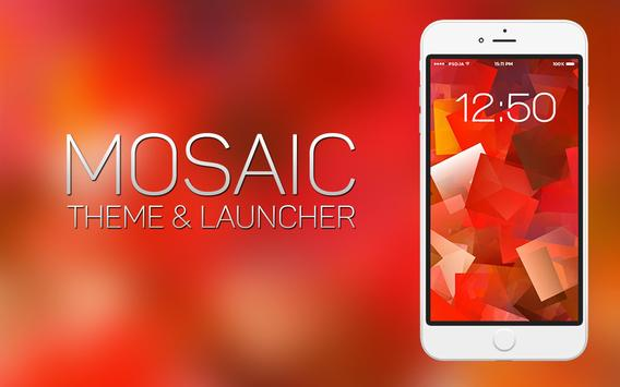 Mosaic Theme and Launcher poster