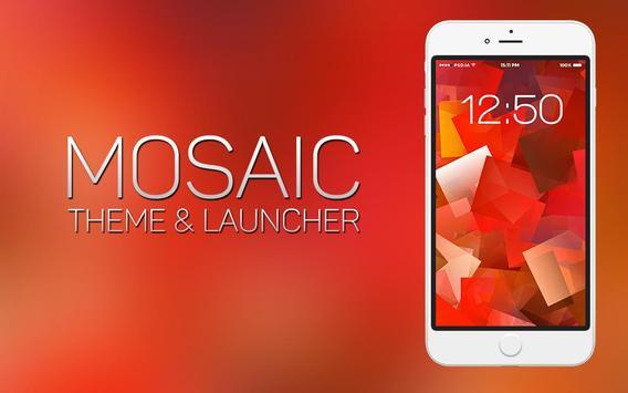Mosaic Theme and Launcher screenshot 1