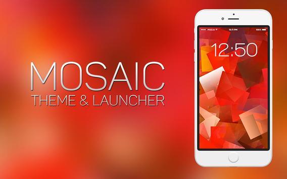 Mosaic Theme and Launcher screenshot 2