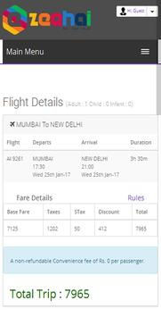 Ezeehai Flight Ticket Booking apk screenshot