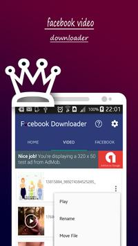 FBook Video Downloader Pro apk screenshot