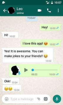 Fake Chat Conversations الملصق