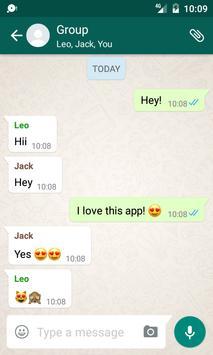 Fake Chat Conversations تصوير الشاشة 1