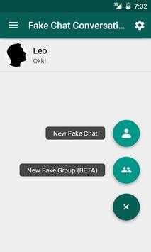 Fake Chat Conversations تصوير الشاشة 7