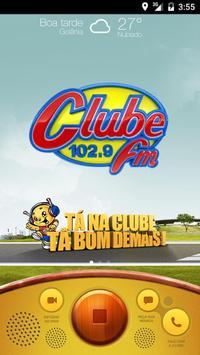 Clube FM Goiânia poster
