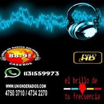 FM 88.9 UNIÓN DE RADIOS SOLIDARIAS screenshot 1