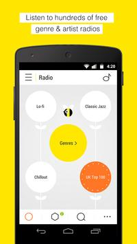 Bloom.fm - The music app captura de pantalla 1