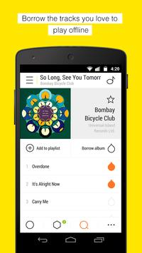Bloom.fm - The music app captura de pantalla 3