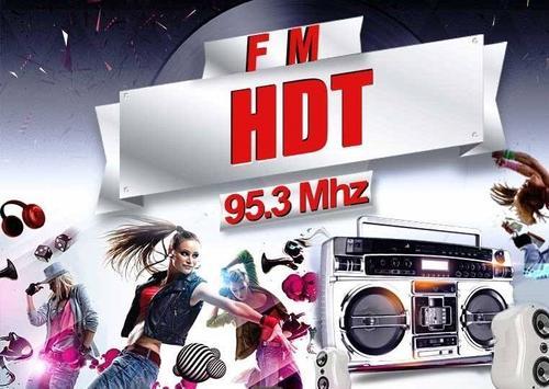 Radio HDT 95.3Mhz poster
