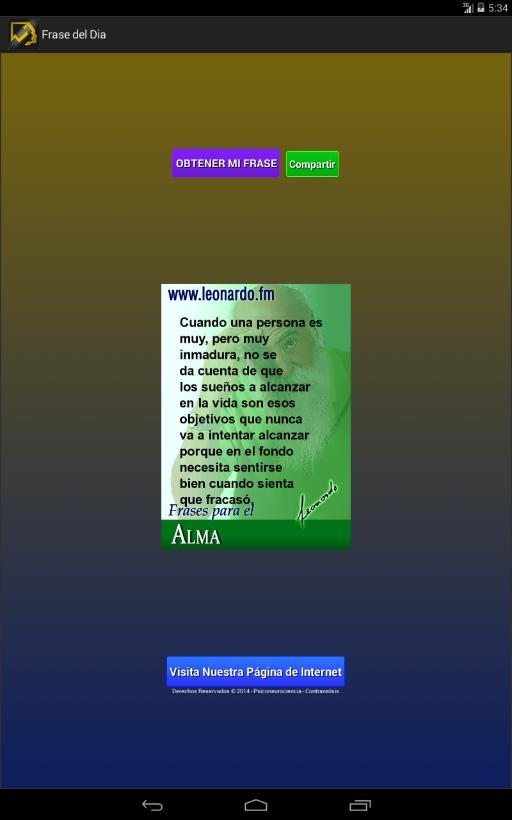Frases De Leonardo Stemberg для андроид скачать Apk