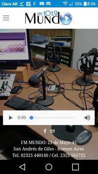 FM MUNDO 102.1 MHZ screenshot 1
