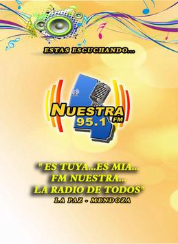 FM Nuestra 95.1 La Paz poster