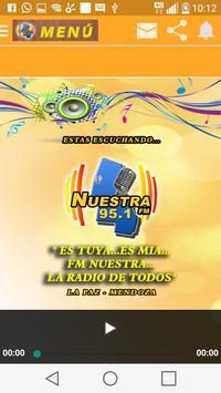 FM Nuestra 95.1 La Paz screenshot 1