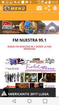FM Nuestra 95.1 La Paz screenshot 2