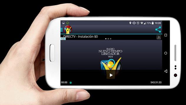 Nuevo Tiempo Libertador Radio capture d'écran 3