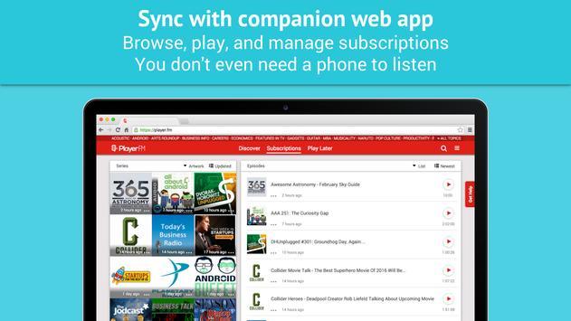 Podcast Player - Free apk screenshot