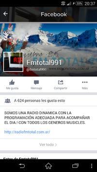 FM TOTAL 99.1 apk screenshot