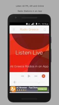 All Greece Radio Stations Free poster
